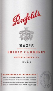 Penfolds Max 2013
